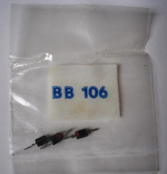 Diodo Bb106 Varicap 3pçs