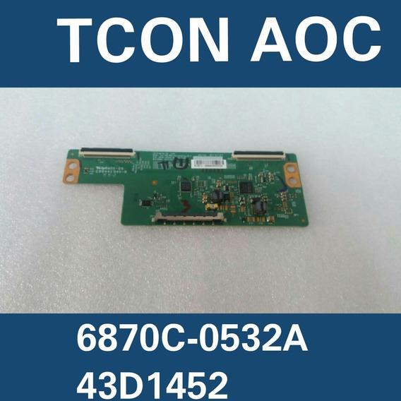 6870c-0532a Tcon Aoc 43d1452 43pfg5000 6870c-0532a