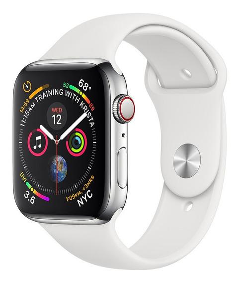 Apple Watch Series 4 Gps + Cellular 40mm Caixa Prateada