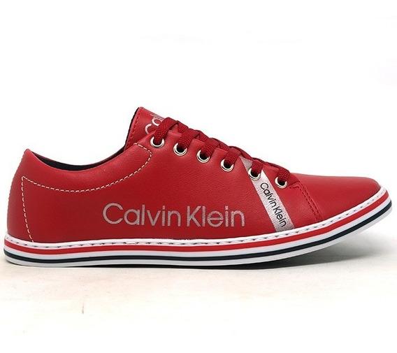 Sapatênis Masculino Calvin Klein Vermelho