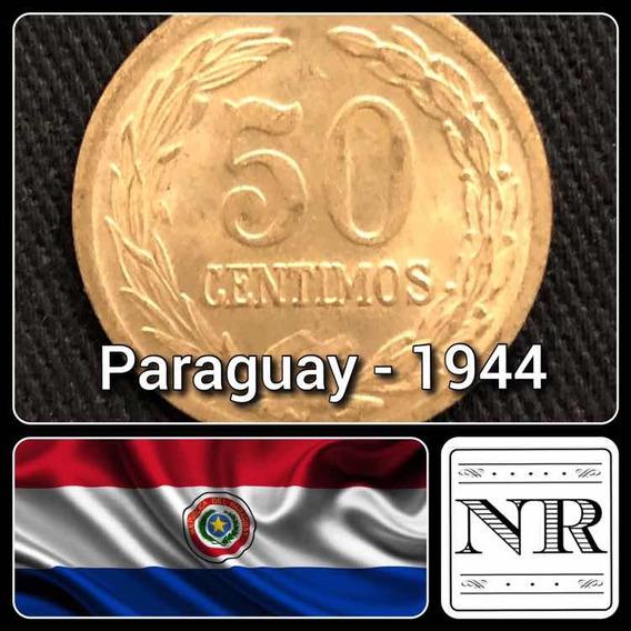 Paraguay - 50 Centimos - Año 1944 - Km # 24 - Unc