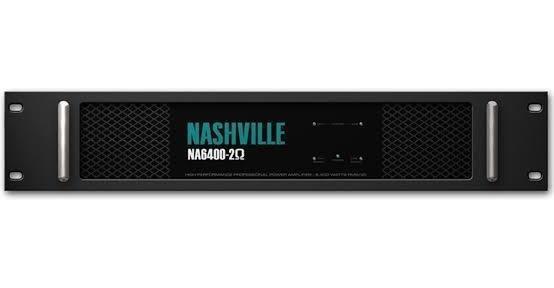 Amplificador De Potência Nashville Na6400 6.400 Wrms