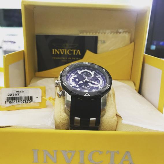 Relogio Invicta Pro Diver 22797 Masculino -prata