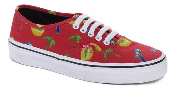 Zapatillas Bajas Authentic Vans Estampadas Mujer Niño
