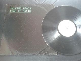 Lp Talking Heads Fear Of Music Com Encarte