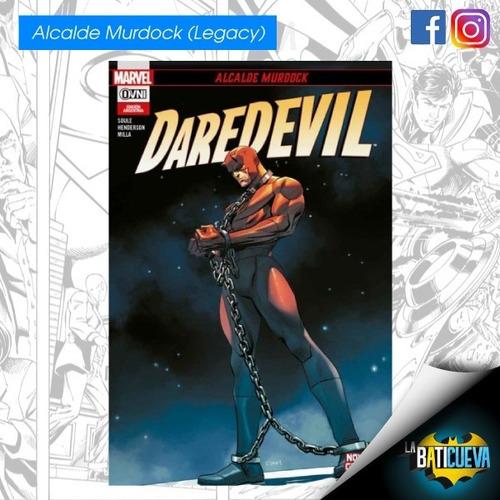 Comic Daredevil Alcalde Murdock Marvel Legacy