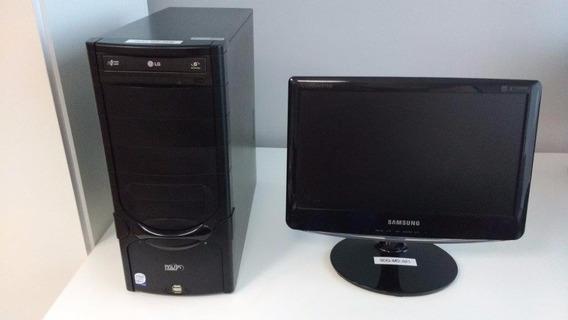 Computador Core 2 Duo E5400 2.2ghz S775 + Tela 15