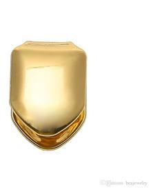 Grillz Dente De Ouro Ou Prata Individual