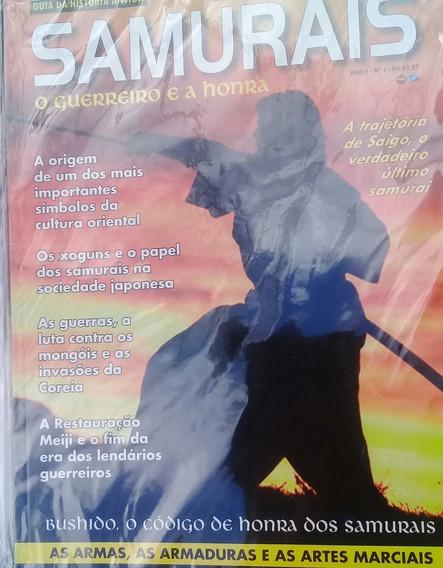 Revista Samurais: O Guerreiro E A Honra - Nova