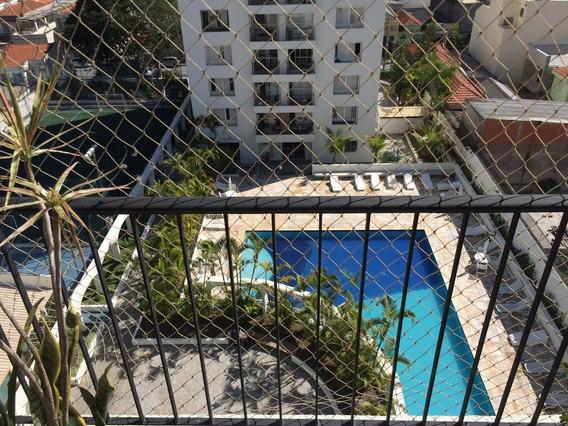 Apartamento Mobiliado Na Mooca, Ótima Vista E O Sol Batendo.