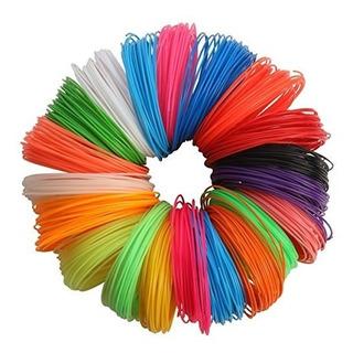Filamentos Lapiz 3d 400gr 10 Rollos +30 Colores A Elegir