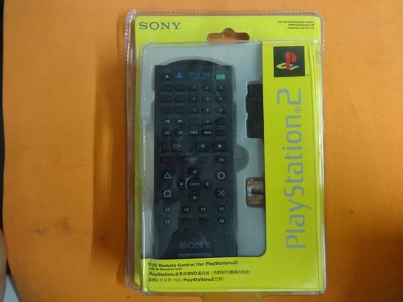 Controle Remoto Orig Play 2 Ps2 Lacrado(pilha Vazada) Dvd Somente Para O Fat(grande)