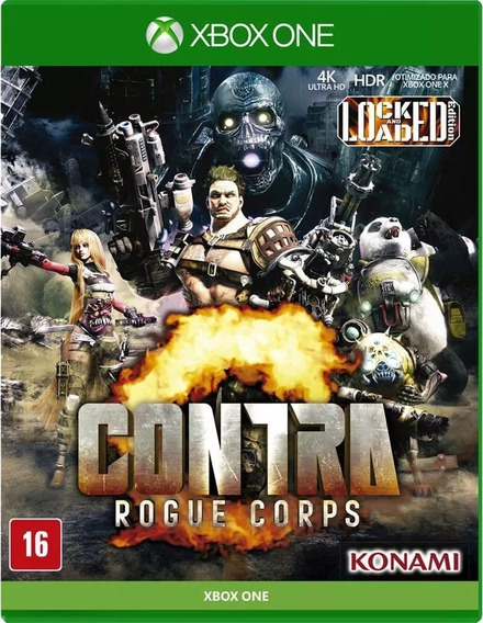 Contra Rogue Corps Xbox One Midi Fisica Lacrado +nf