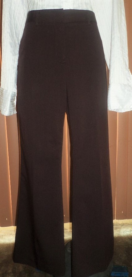 Vera Wang Fino Pantalon Ejecutivo Color Cafe Talla 34