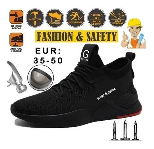 Zapatos De Seguridad De Fibra De Kevlar, Transpirables