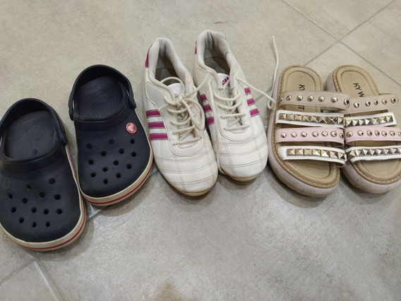 Zapatilla Crocs Sandalias Usadas Talle 31_32