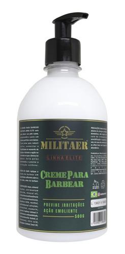 Imagem 1 de 1 de Creme De Barbear Militaer 500gr