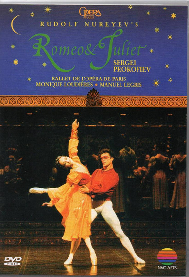 Dvd Prokofiev - Ballet Romeo & Juliet - Rudolf Nureyev 1995