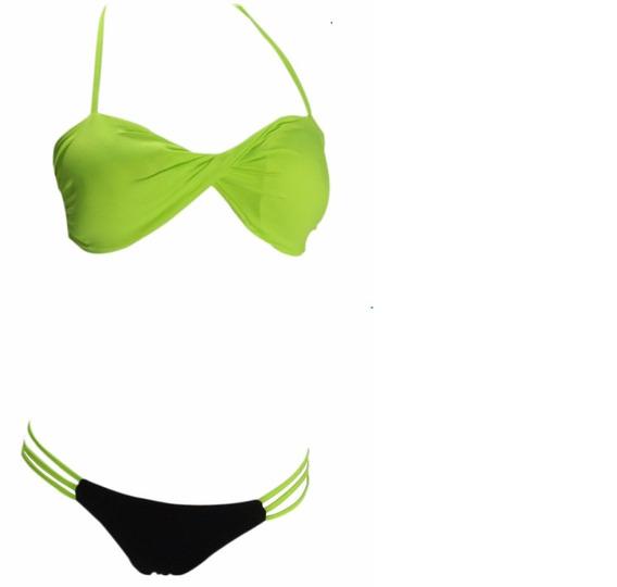 73162a6990a4 Traje Bano Volcom Tipo Nixon - Trajes de baño Mujer Bikinis en ...