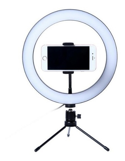 Kit Iluminador Led Circular Ring Light 26cm Suporte Celular