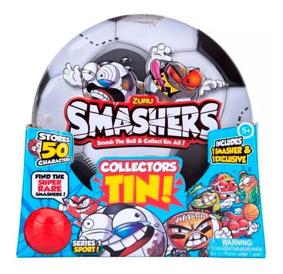 Smashers Lata De Fútbol Con Personajes Wabro