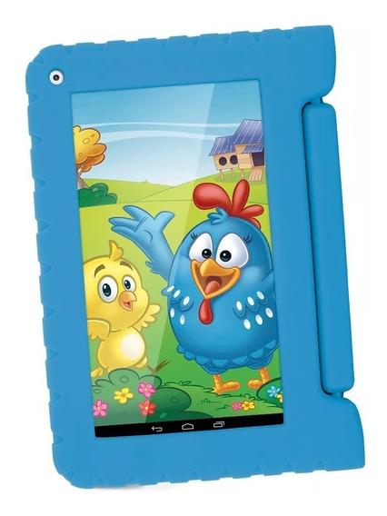 Tablet Multilaser Galinha Pintadinha Jogos Videos Quad Core