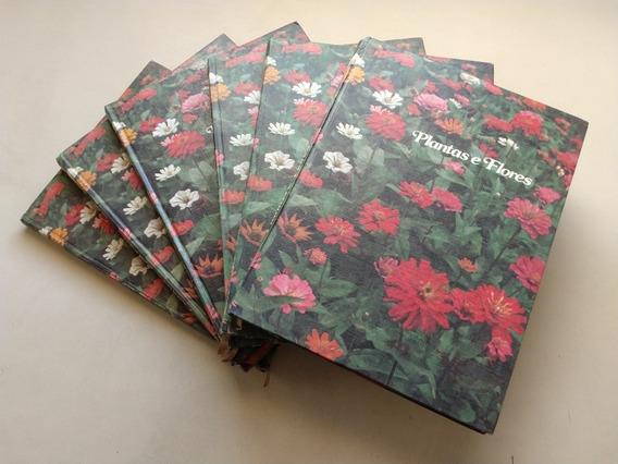 Coleção Livros Plantas E Flores Volumes Do 1 Ao 5 H957
