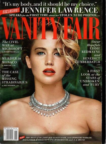 Vanity Fair Revista - Jennifer Lawrence