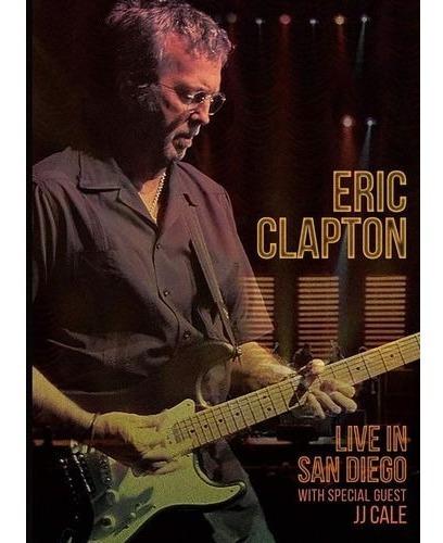 Dvd Eric Clapton Live In San Diego Lacrado