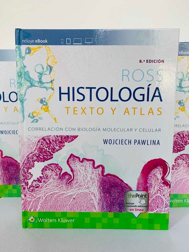 Imagen 1 de 9 de Ross Histología Texto Y Atlas 8a Libro Original Y Nuevo
