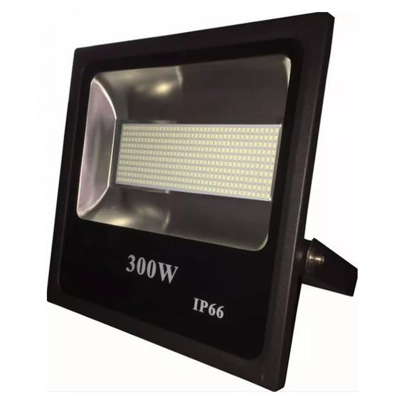 Kit 6 Refletor Holofote 300w Led Smd Branco Frio Bivolt