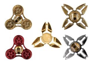Spinner Metalico Acero Colores Remate Varios Diseños