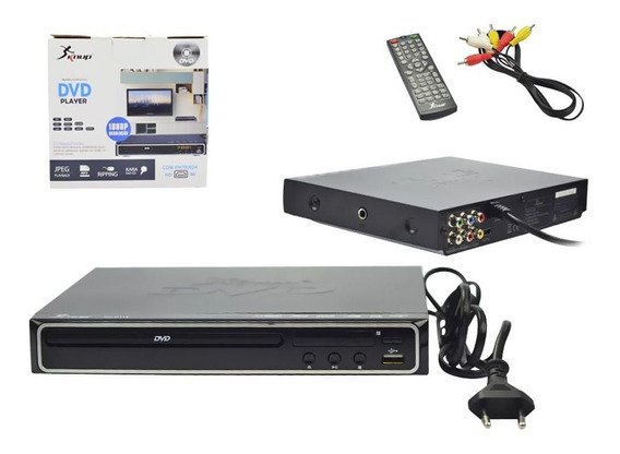 Dvd Player Entradausb Karaok Hdmi Rca Reso1080p Kp-d112 Knup