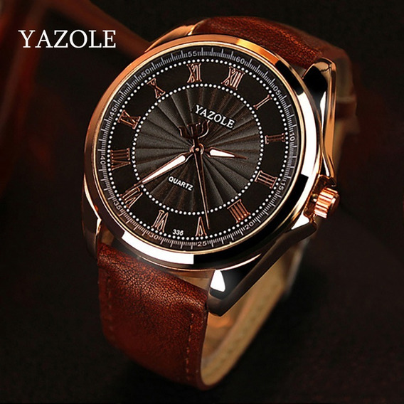 Relógio De Luxo Masculino Yazole Yz-336