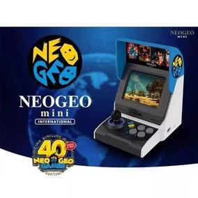 Console Neo Geo Mini Snk 40th Anniversary 40 Jogos - Snk