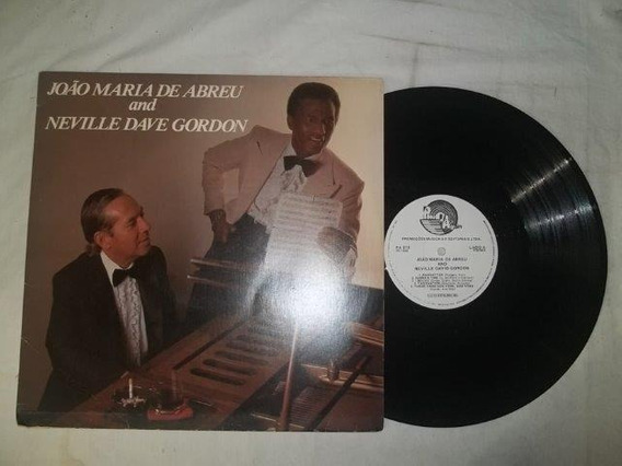 Lp Vinil - João Maria De Abreu And Neville Dave Gordon