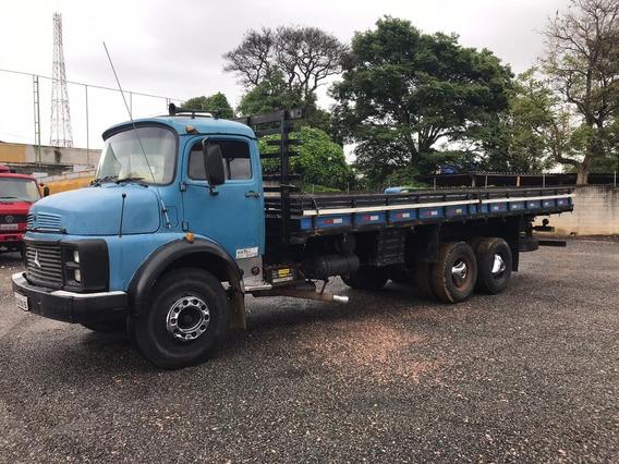 Mb 1113 Truck, 1983, Carroceria Madeira! Aceito Troca