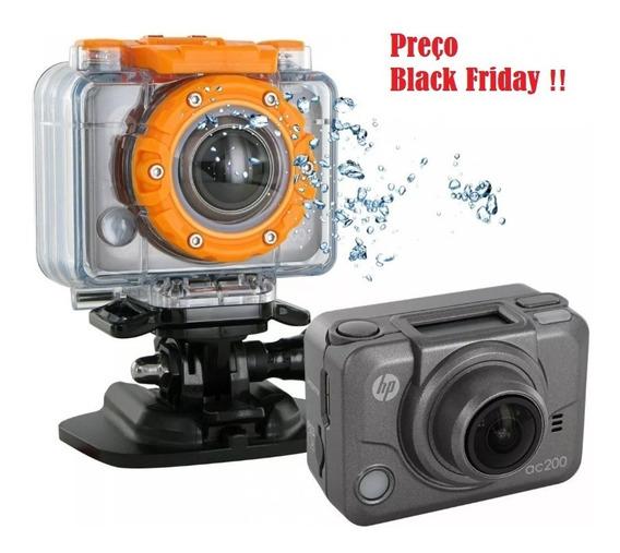 Câmera Hp Ac200w 4k - Black Friday - Original