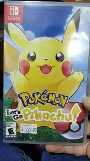 Jogo Pokémon Para Nintendo Switch Novo Lacrado