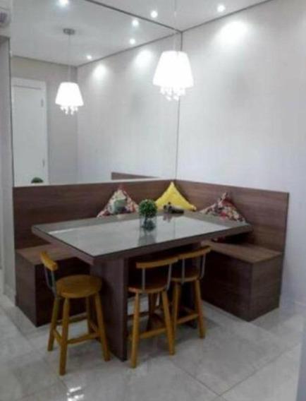 Apartamento Em Marapé, Santos/sp De 62m² 2 Quartos À Venda Por R$ 398.000,00 - Ap239761