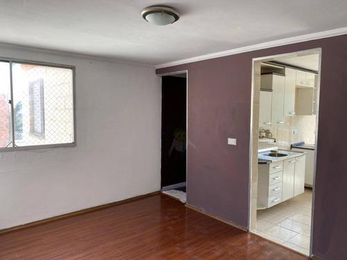 Imagem 1 de 12 de Apartamento Com 2 Dormitórios À Venda, 54 M² Por R$ 195.000 - Jardim Alvorada - Santo André/sp - Ap1582