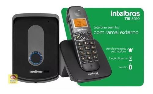 Porteiro Eletrônico Interfone Sem Fio Intelbras Tis 5010