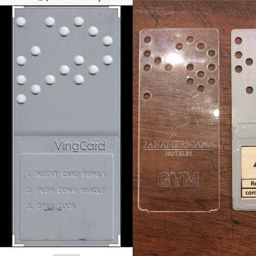 Punch Card Keys / Hoteles / Llaves / Vingcard