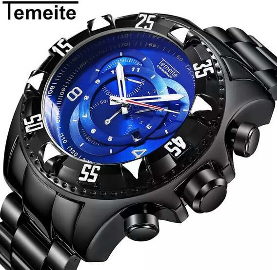Relógio Temeite Original Big Dial