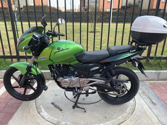 Pulsar 180 Ug Gt Negro Verde