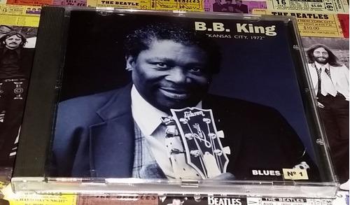 Bb King - Kansas City - Cd Ed. 1995 Imp. España Nuevo!