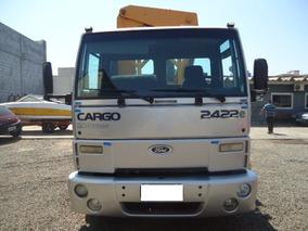 Ford Cargo 2422 Ano 2006 Trucado Munck 35.000 Kl Para 17.5 P