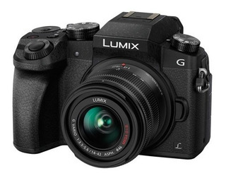 Camara Panasonic Lumix G7 Video 4k Lente 14-42mm Mega Ois