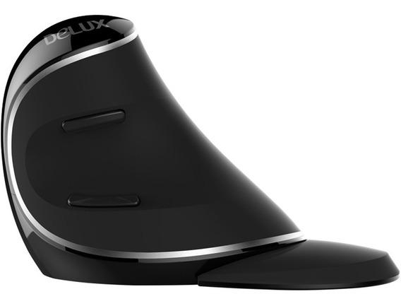Mouse Vertical Ergonômico S/f - Delux M618 Plus Original