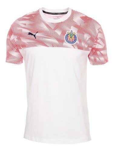 princesa tallarines Contradicción  Playera Puma Original Chivas Camisa Casual 19-20 Concentraci   Mercado Libre